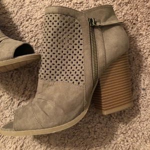 Altard state open toes boots